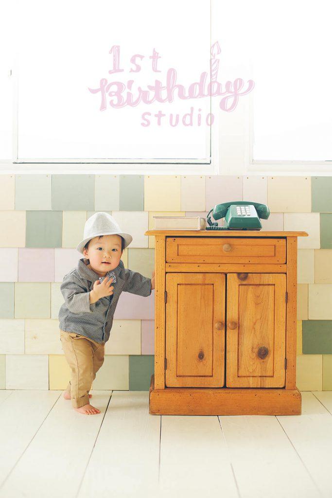 1歳お誕生日記念の専門写真館、1st Birthday studio(ファーストバースデースタジオ) サンプルフォト1