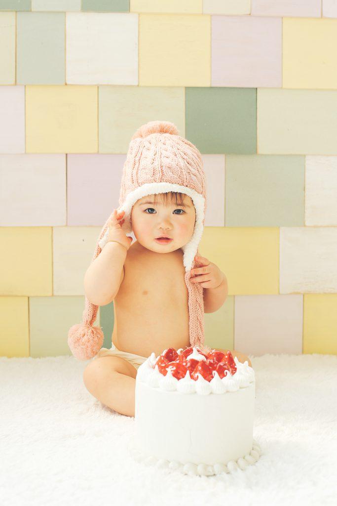 1歳お誕生日記念の専門写真館、1st Birthday studio(ファーストバースデースタジオ) サンプルフォト4