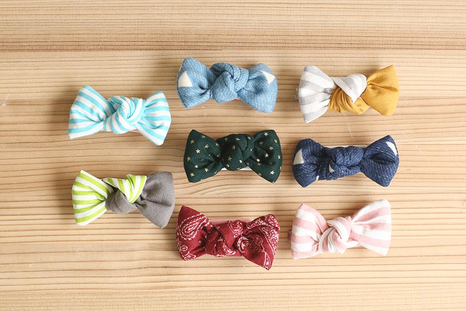 赤ちゃん用の蝶ネクタイ