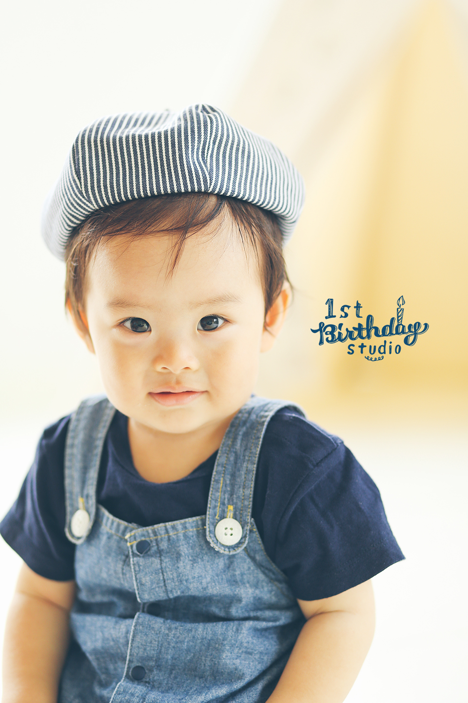 1歳の赤ちゃん 笑顔の写真