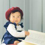 ひーちゃん1歳の記念撮影