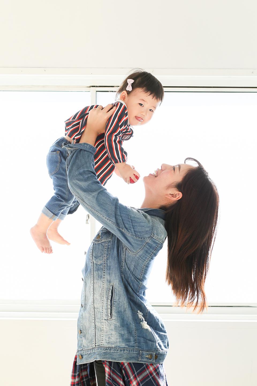 ママと1歳バースデーフォト